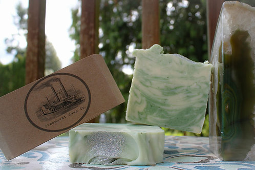 Handmade Peppermint Cold Process Soap