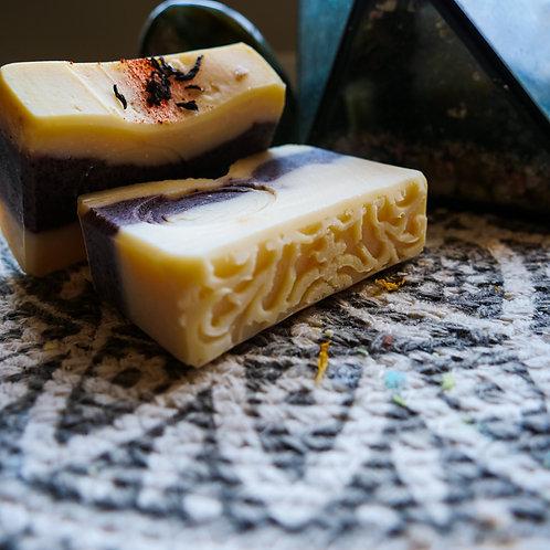 Handmade Earl Grey Cold Process Soap