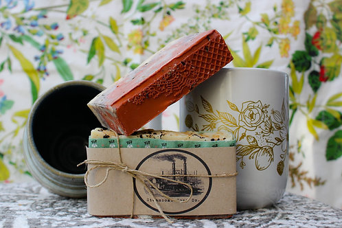 Handmade Earl Grey Cold Process Soap
