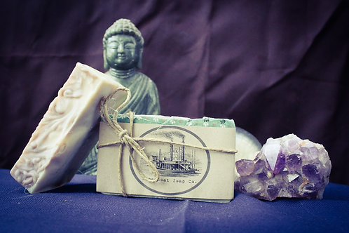 Handmade Lavender Sage Patchouli Cold Process Soap - The Rag