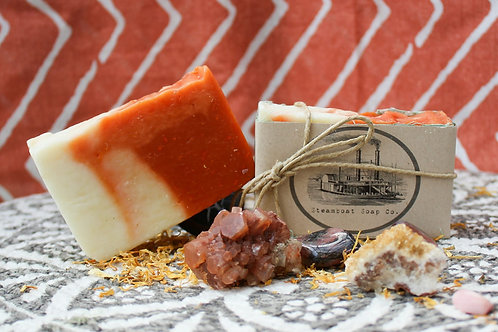 Handmade Orange Clove Cold Process Soap