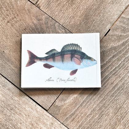 A7 Fish Notepad