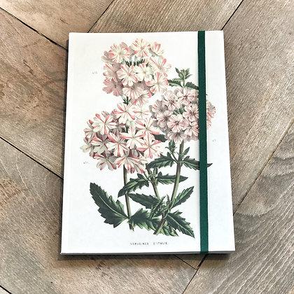 A5 Geranium Notebook