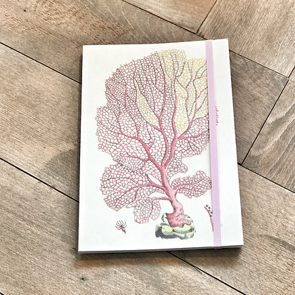 A5 Coral Notebook