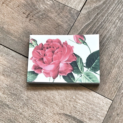 A7 Rose Notepad