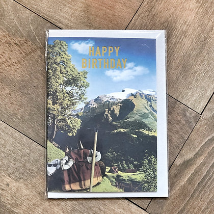Titlis Birthday Card