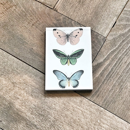 A7 Butterfly Notepad