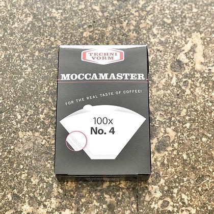 100 Moccamaster No.4 Filters