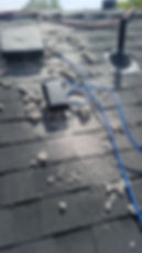 Roof top dyer vent cleaning