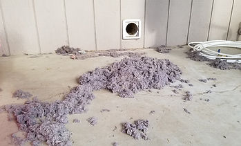 Dryer vent cleaning results