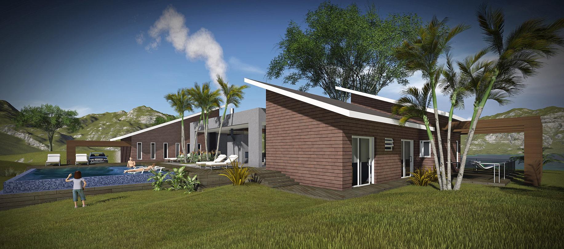 RoseckáZequinão - Arquitetura residencial | Residência Serra do mar