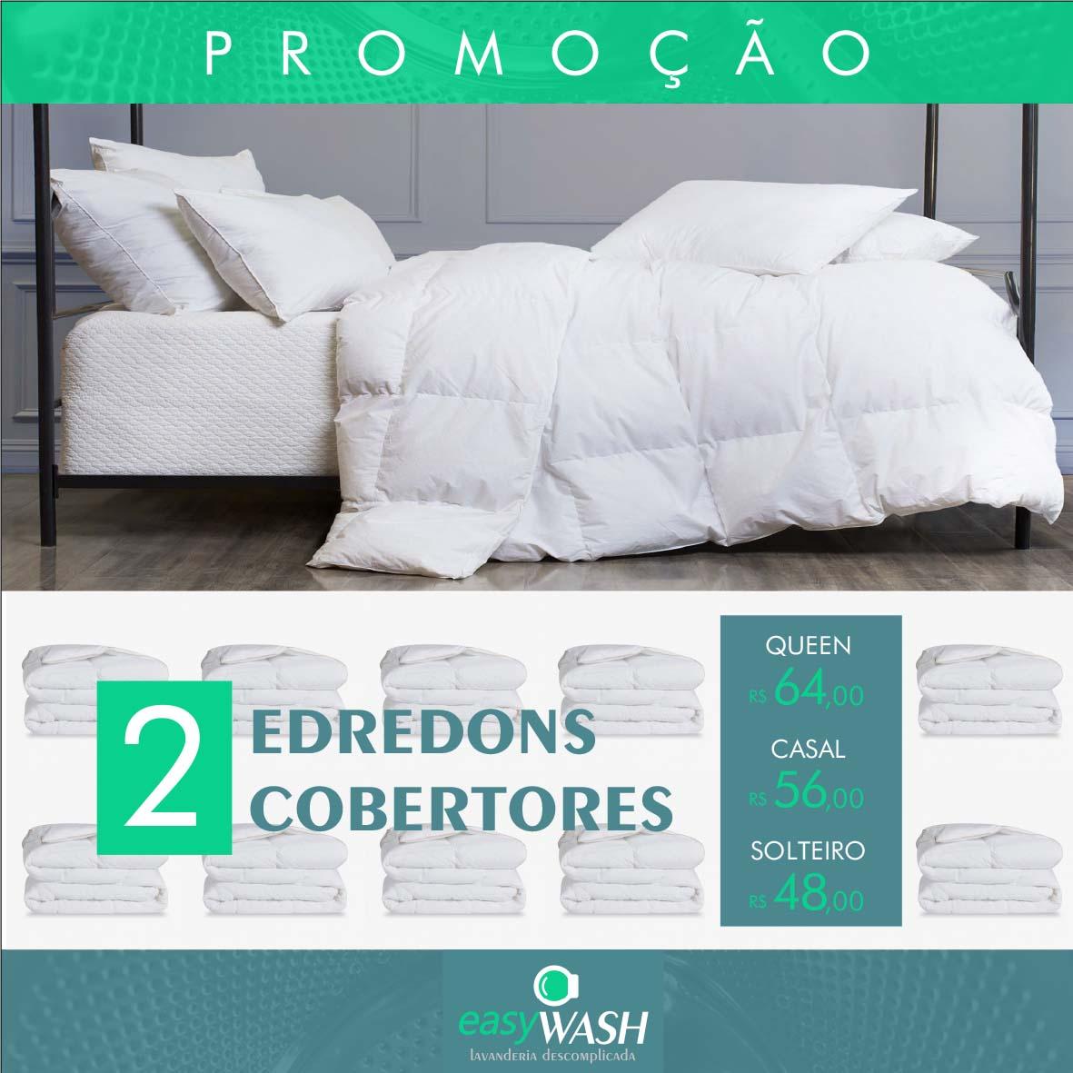 PROMO 2 EDREDONS/ COBERTORES
