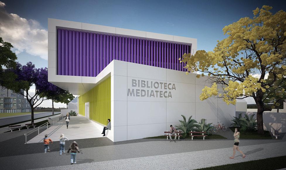 RoseckáZequinão - Biblioteca Mediateca Pública