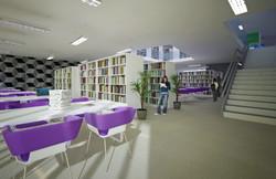Sala de leitura - piso inferior