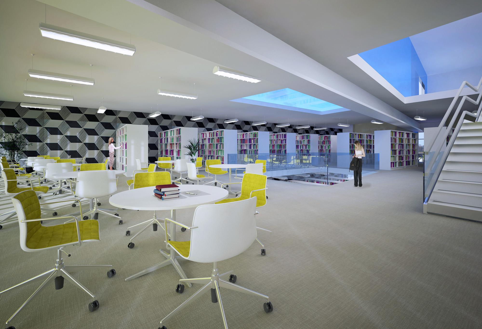 Sala de leitura - piso superior