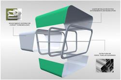 Detalhe da estrutura