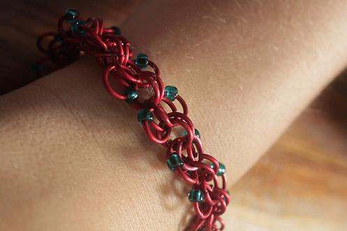 Chain/Bead Bracelet
