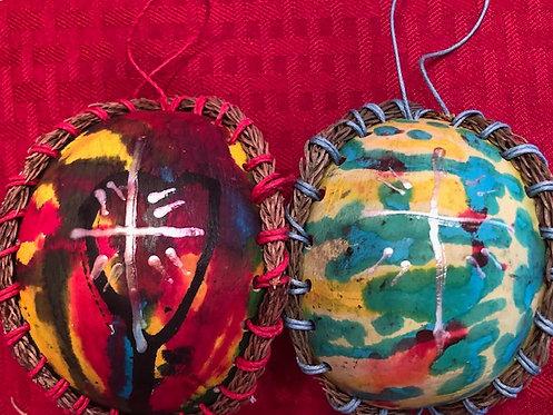 Gourd Cross Ornaments