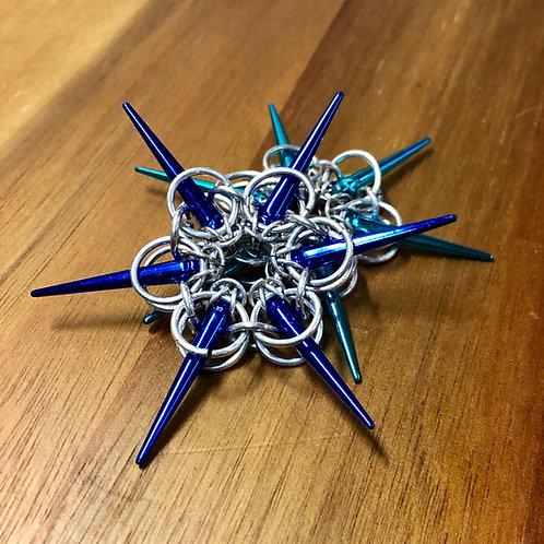 Blue Star Ornaments