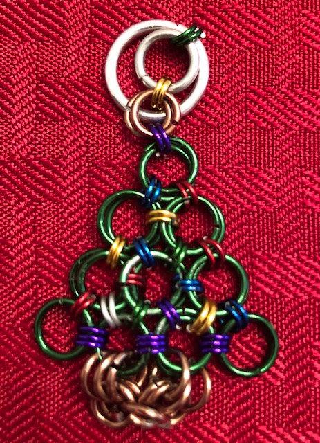 Christmas Tree Ring Ornament