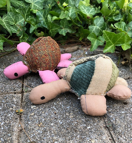 Small Stuffed Turtle