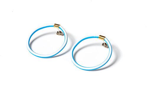 Eleanor Symms   Hula Loop Earrings
