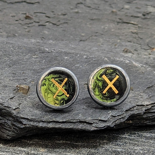 Gill Ross Jewellery    Encircled Studs