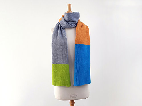 Candy Coated Accessories    Block Scarf