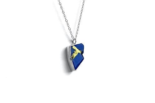 Eleanor Patton Jewellery | Abstract Kintsugi Small Pendant