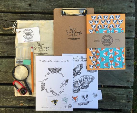 Wee Seedlings Adventure Kit by Nicki Bradwell Design
