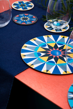 FMG_Galaxt tablemats _ coasters - Eleano