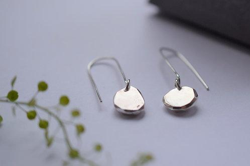 Ana Herranz Jewellery | Long dangly pebble earrings