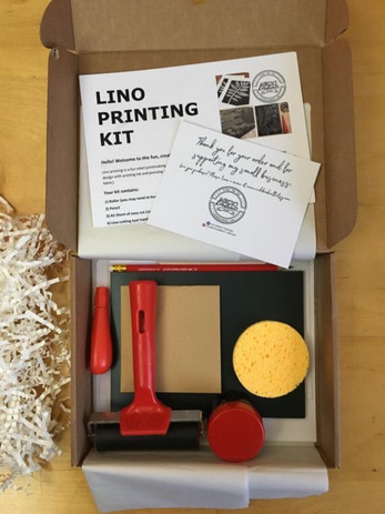 Lino Printing Kit by Nicki Bradwell Design