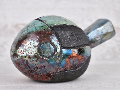 Martine Greig Ceramics | Decorative Raku Fish 8
