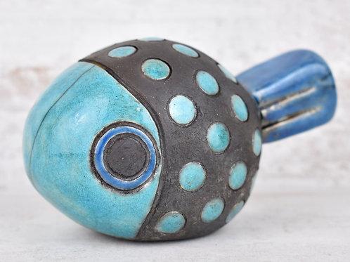 Martine Greig Ceramics   Decorative Raku Fish 4