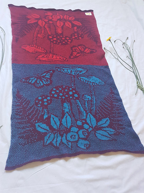 Wee Beauties | 'Fruits of the forest' Baby Blanket
