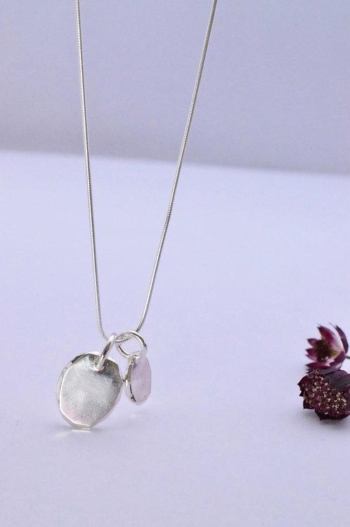 Ana Herranz Jewellery   Two pebbles necklace