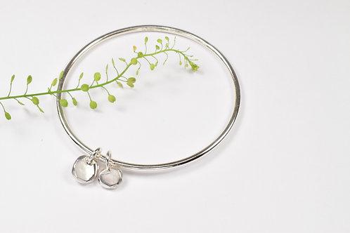 Ana Herranz Jewellery   Bangle & pebble charms