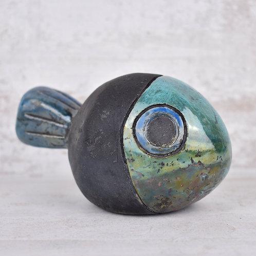 Martine Greig Ceramics | Decorative Raku Fish 2