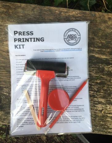 Press Printing Kit  by Nicki Bradwell Design