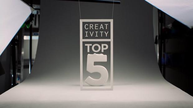Creativity Top 5 Countdown