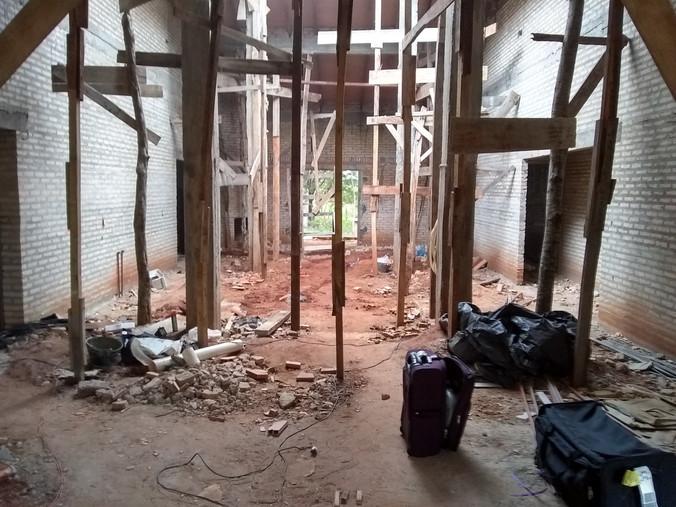 Interior of new construction