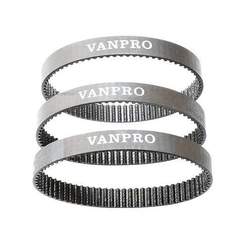 Vanpro Electric Skateboard motor Geared Vacuum Belts 70 72MM Pulleys Wheel Belt
