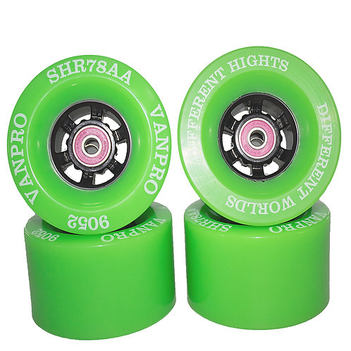 Vanpro DIY electric skateboard wheels 90MM 9052 pu wheel Longboards for Cruising