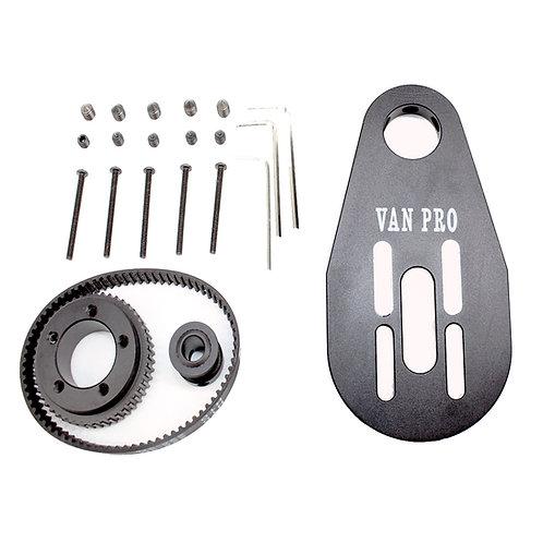 VANPRO DIY Electric skateboard 5065 brushless motor bracket 7243PU wheel synchro