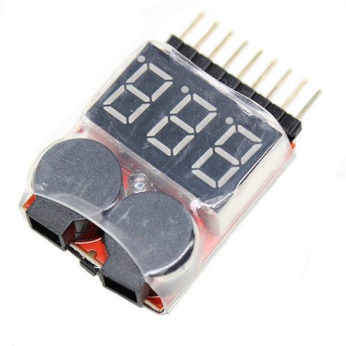 VANPROElectric skateboard polymer battery RC 1-8s Lipo Battery Tester Monitor Lo