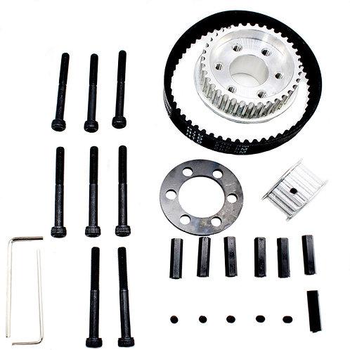 Vanpro DIY Electric Skateboard 8352,9052,9752 PU Wheel  pulleys Kit set