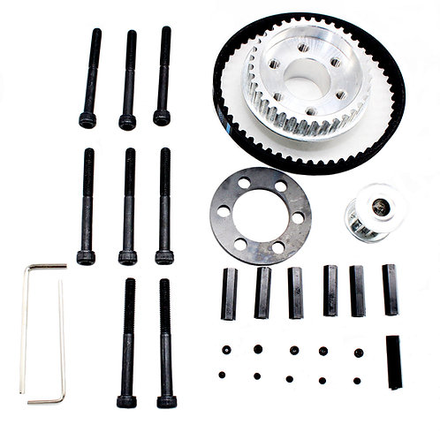 Vanpro DIY Electric Skateboard 8352,9052,9752PU 100MM Pulleys Kit set 36/12 too