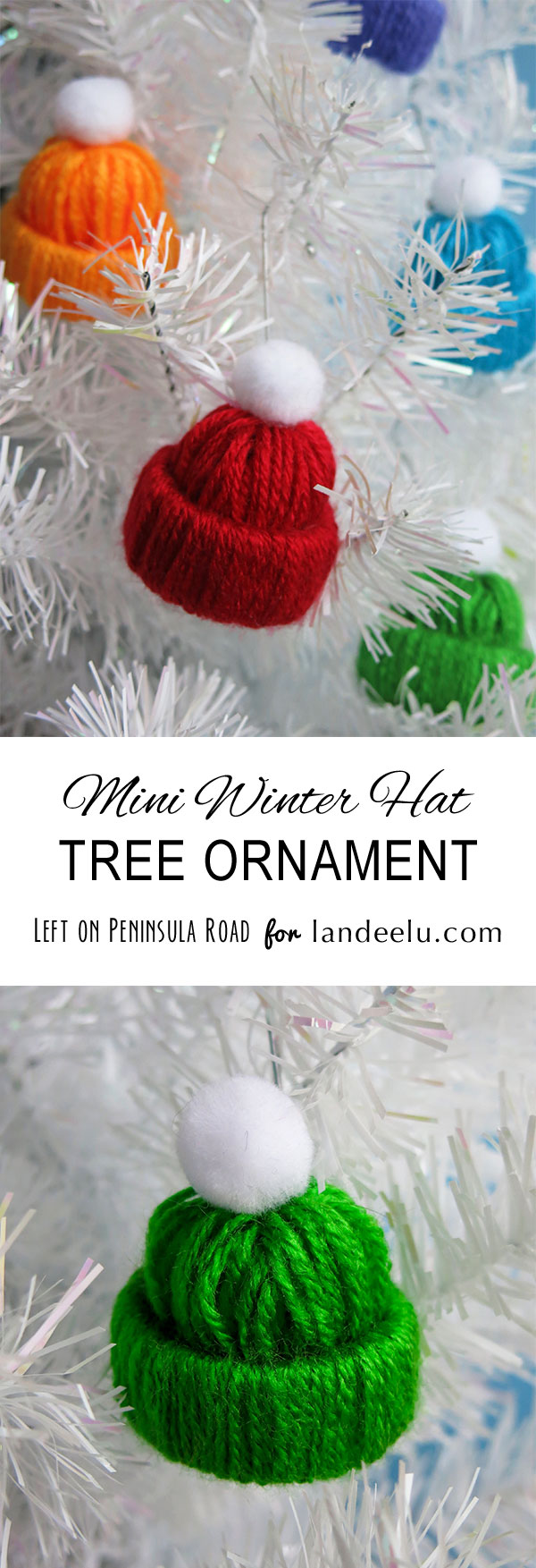 Winter Hat Tree Ornament