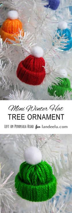 Winter Hat Tree Ornament